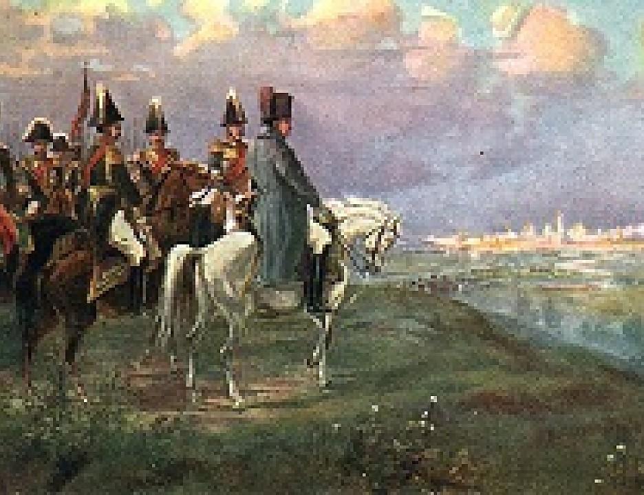 Наполеон. львов. воспоминание. наполеон на воробьевых горах..