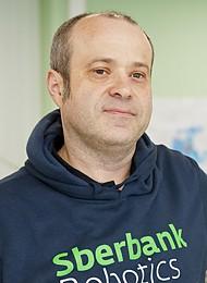 Альберт Ефимов, руководитель Центра робототехники Сбербанка