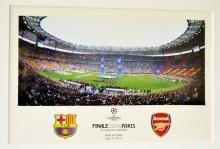 """17 мая 2006 г. в Париже на """"Стад-де-Франс"""" в финале Лиги чемпионов, который транслировала компания """"НТВ-Плюс"""", каталонская """"Барселона"""" победила лондонский """"Арсенал"""" со счетом 2:1"""