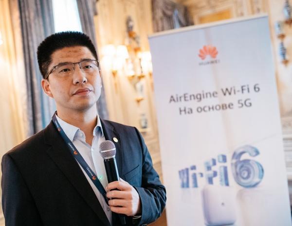 Директор по сетевым решениям Huawei Enterprise в Евразии Ван Увэй
