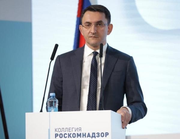 Руководитель Роскомнадзора Андрей Липов